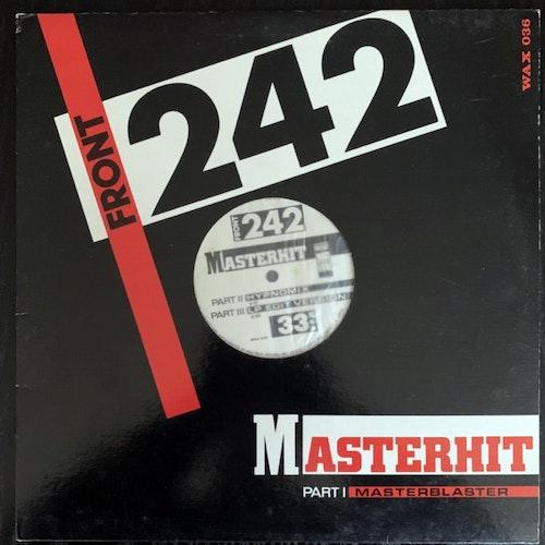 "FRONT 242 Masterhit (Wax Trax! - USA original) (VG+) 12"""