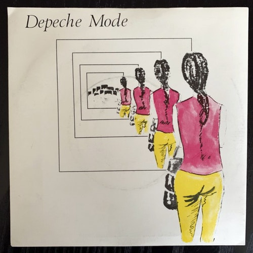 DEPECHE MODE Dreaming Of Me (Mute - UK original) (VG+) 7""
