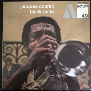 JACQUES COURSIL Black Suite (BYG - France original) (EX) LP