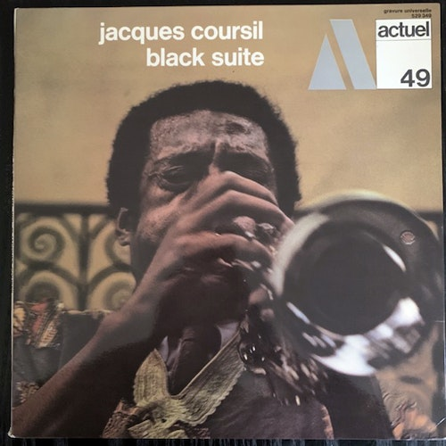 JACQUES COURSIL Black Suite (BYG - France original) (EX) LP