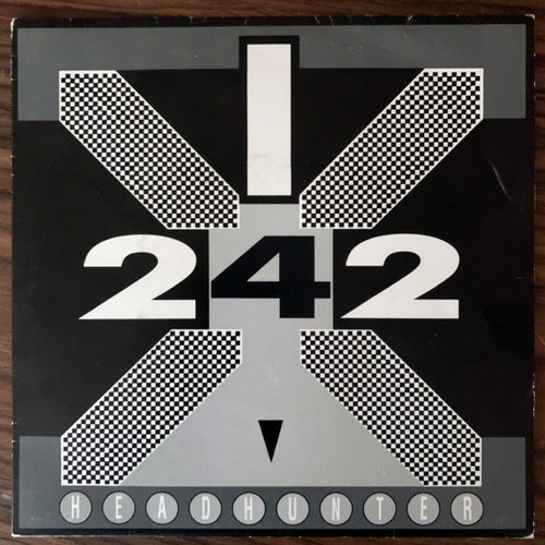 FRONT 242 Headhunter (Red Rhino - Sweden original) (VG+) 7""