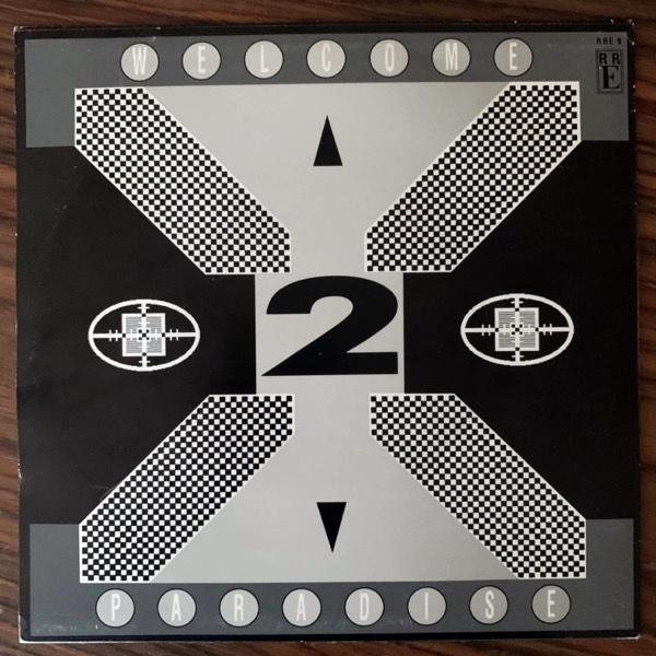 """FRONT 242 Headhunter (Red Rhino - Sweden original) (VG+) 7"""""""