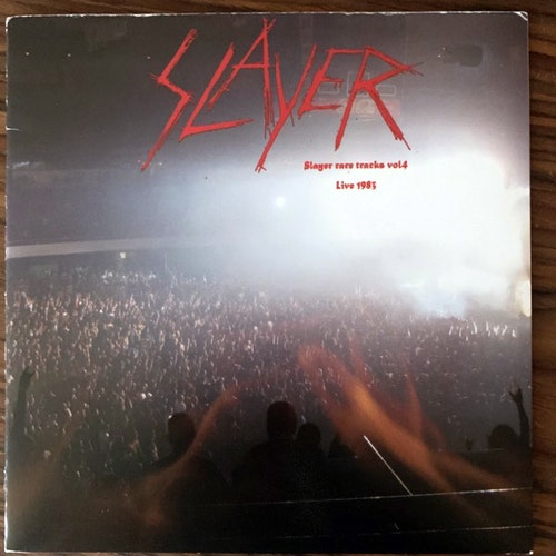 SLAYER Slayer Rare Tracks Vol 4: Live 1983 (No label - USA) (VG+) 7""