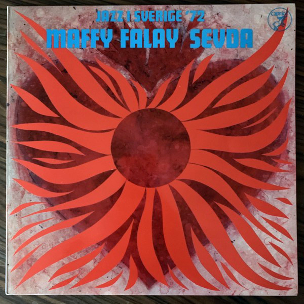 MAFFY FALAY, SEVDA Jazz I Sverige '72 (Caprice - Sweden original) (EX) LP