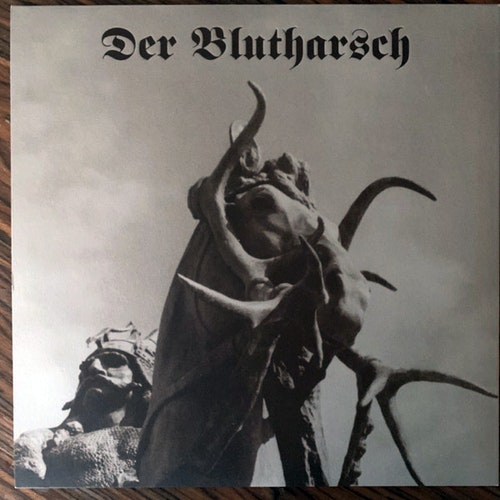 DER BLUTHARSCH The Track Of The Hunted (Brown vinyl) (WKN - Austria original) (EX) LP