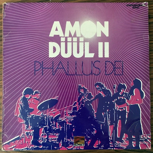 AMON DÜÜL II Phallus Dei (Sunset - UK 1972 reissue) (VG) (NWW List) LP
