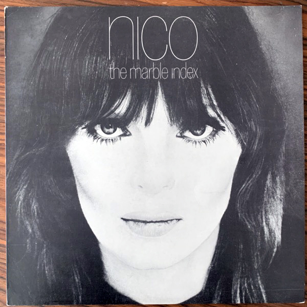 NICO The Marble Index (Blue vinyl) (Elektra - Belgium reissue) (VG+) (NWW List) LP