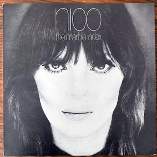 NICO The Marble Index (Blue vinyl) (Elektra - Belgium reissue) (VG+) (NWW List) LP