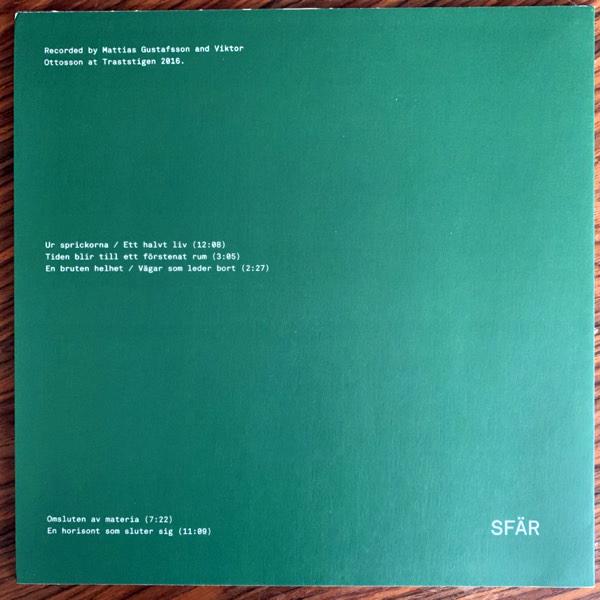 SFÄR Sprickor (Järtecknet - Sweden original) (NEW) LP