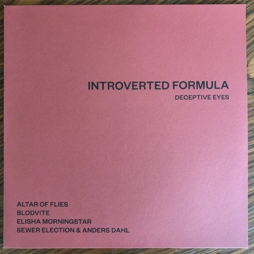 VARIOUS Introverted Formula (Järtecknet - Sweden original) (NEW) 2LP