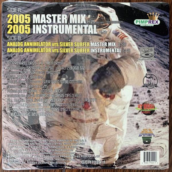 """ANALOG BROTHERS 2005 A.D. (Ground Control - USA original) (NM/EX) 12"""""""