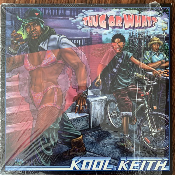 "KOOL KEITH Thug Or What? (Rawkus - USA original) (EX) 12"" EP"