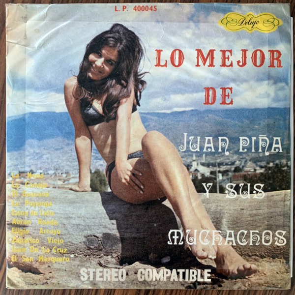 JUAN PINA Y SUS MUCHACHOS Lo Mejor De Juan Piña Y Sus Muchachos (Delujo - Colombia original) (VG-) LP