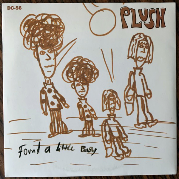 PLUSH Three-Quarters Blind Eyes (Drag City - USA original) (VG+) 7""