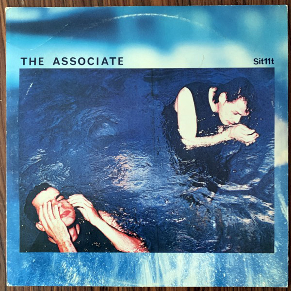 """ASSOCIATES, the White Car In Germany (Situation Two - UK original) (VG/VG+) 12"""""""
