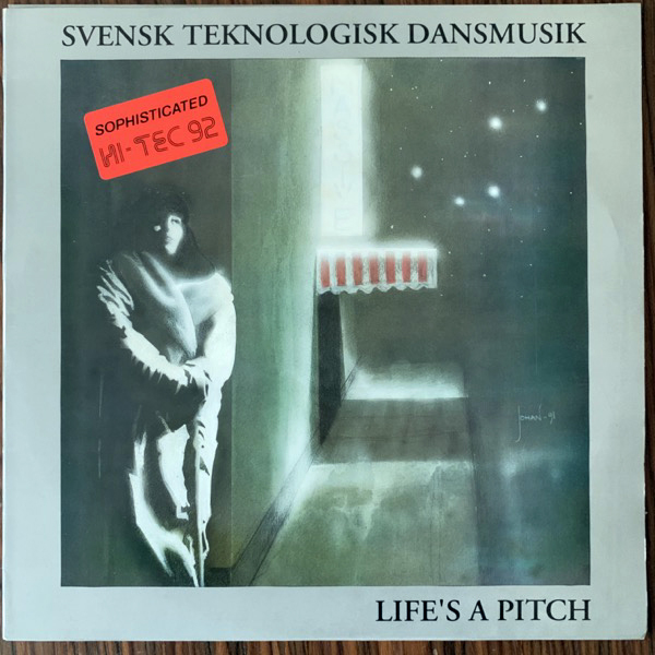 VARIOUS Svensk Teknologisk Dansmusik - Life's A Pitch (Future Crew - Sweden original) (EX/VG+) LP