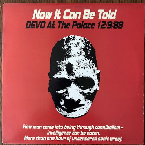 DEVO Now It Can Be Told (Devo At The Palace 12/9/88) (Enigma - USA original) (VG+) 2LP