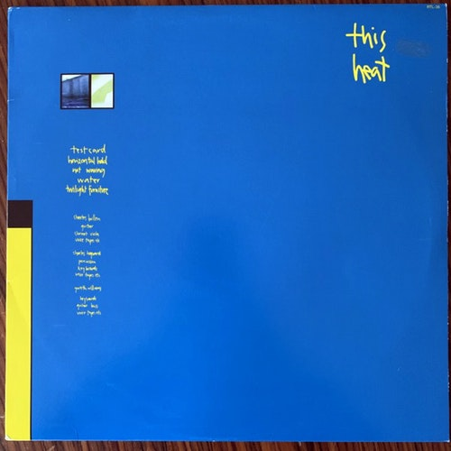 THIS HEAT This Heat (No label - Europe unofficial reissue) (VG+/EX) (NWW List) LP