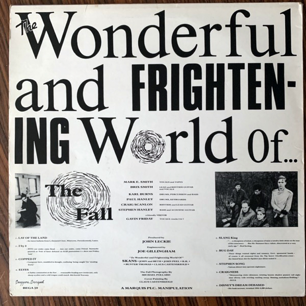 FALL, the The Wonderful And Frightening World Of... (Beggars Banquet - UK original) (VG+/VG) LP