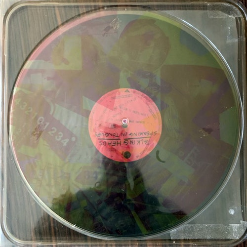 TALKING HEADS Speaking In Tongues (Clear vinyl) (Sire - Europe original) (VG+) LP