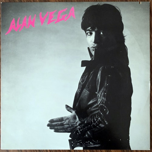 ALAN VEGA Alan Vega (PVC - USA original) (VG+/EX) LP