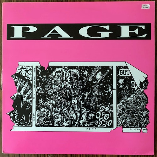PAGE Som En Vind (Accelerating Blue Fish - Sweden original) (VG+) 12""