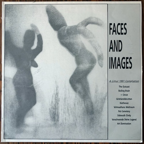 VARIOUS Faces And Images (Limur - Sweden original) (VG+) LP