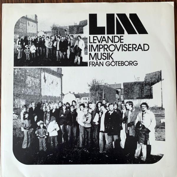 VARIOUS LIM: Levande Improviserad Musik Från Göteborg (Levande Improviserad Musik - Sweden original) (VG+/EX) LP