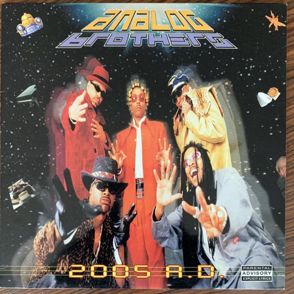 """ANALOG BROTHERS 2005 A.D. (Ground Control - USA original) (VG+/EX) 12"""""""