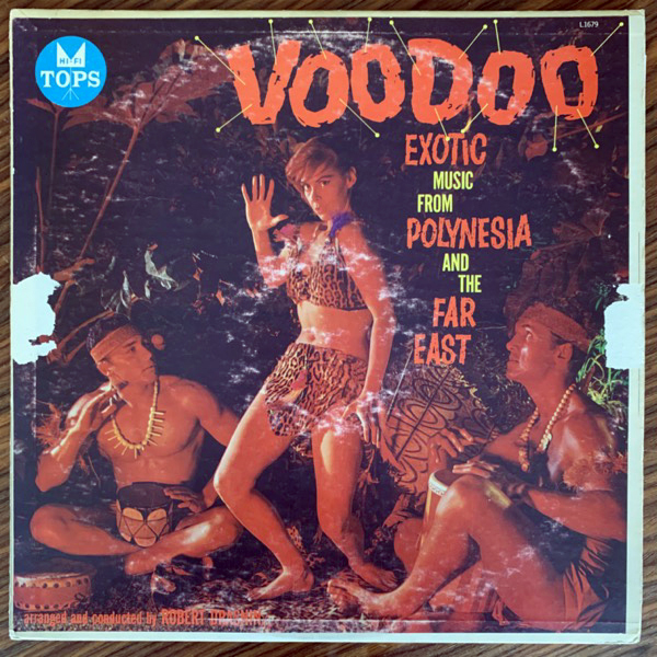 ROBERT DRASNIN Voodoo Exotic Music From Polynesia And The Far East (Tops - USA original) (VG-) LP
