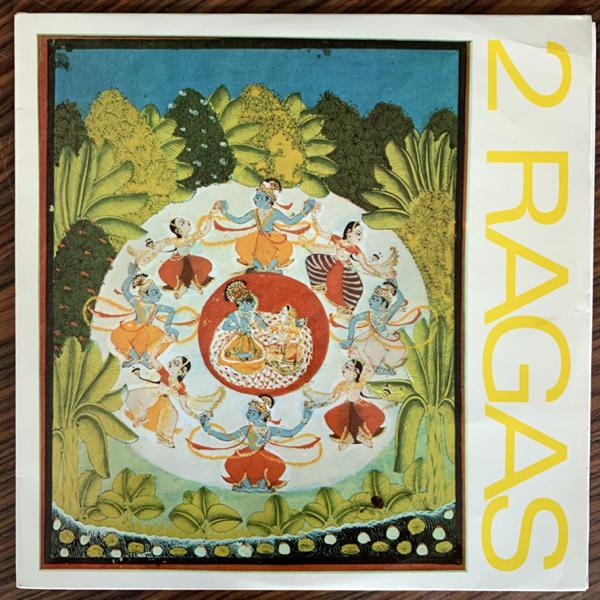 DEBEN BHATTACHARYA 2 Ragas (Sveriges Radio - Sweden original) (EX/VG+) LP