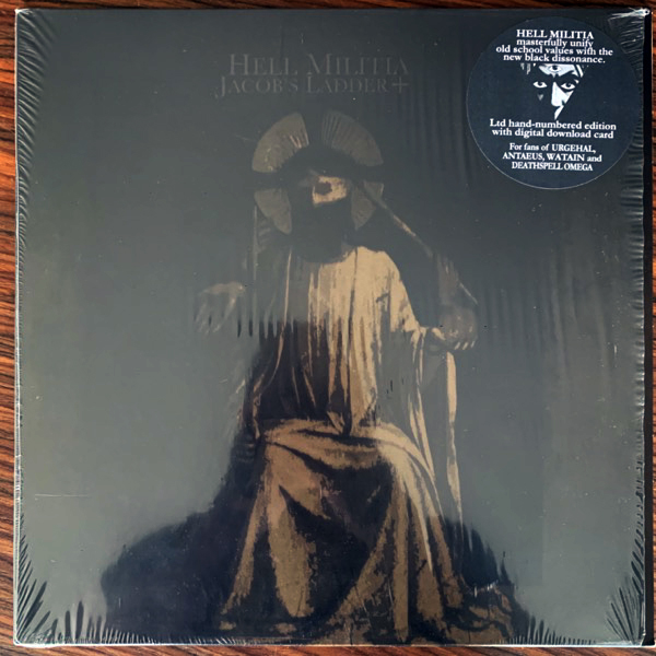 HELL MILITIA Jacob's Ladder (Season Of Mist Underground Activists - France 2012) (EX) LP