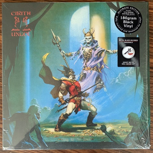 CIRITH UNGOL King Of The Dead (Metal Blade - Europe 2017 reissue) (NM) LP