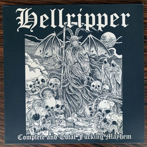 HELLRIPPER Complete And Total Fucking Mayhem (Diabolic Might - Germany original) (EX) LP