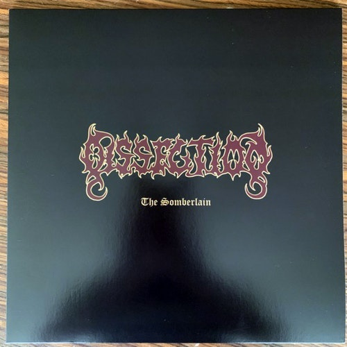 DISSECTION The Somberlain (Gold vinyl) (Black Lodge - Sweden reissue) (EX/NM) LP