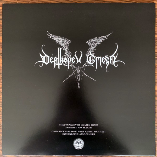 DEATHSPELL OMEGA The Synarchy Of Molten Bones (Norma Evangelium Diaboli - France original) (EX/NM) LP