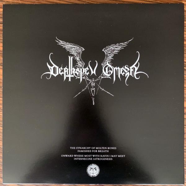 DEATHSPELL OMEGA The Synarchy Of Molten Bones (Norma Evangelium Diaboli - France original) (EX/NM) LP