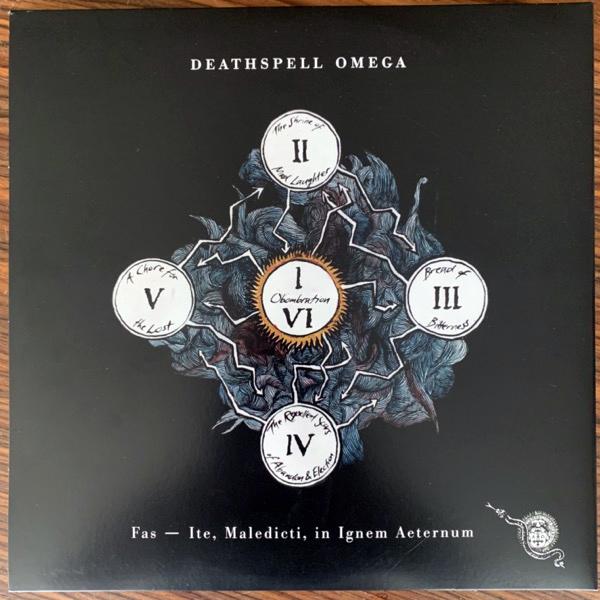 DEATHSPELL OMEGA Fas - Ite, Maledicti, In Ignem Aeternum (Norma Evangelium Diaboli - France original) (EX) LP