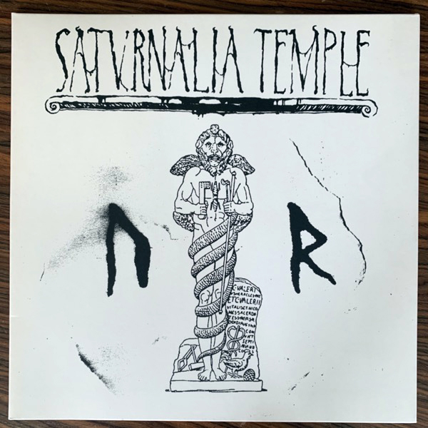 SATURNALIA TEMPLE Ur (Monumentum - Holland original) (NM/EX) LP
