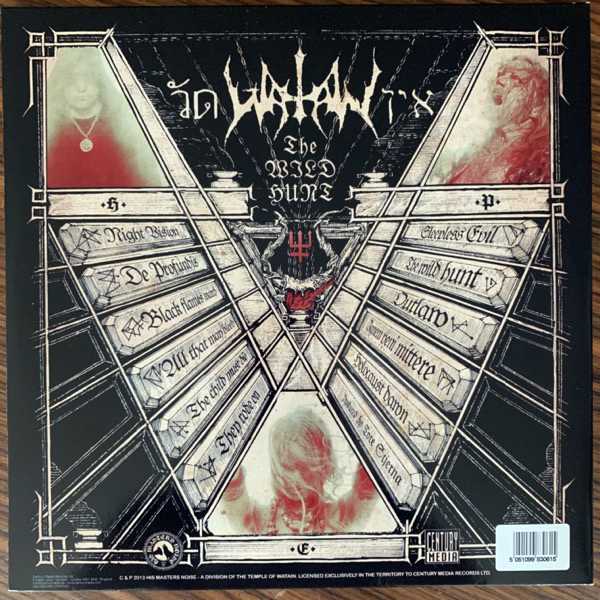 WATAIN The Wild Hunt (His Master's Noise - Europe original) (NM) 2LP