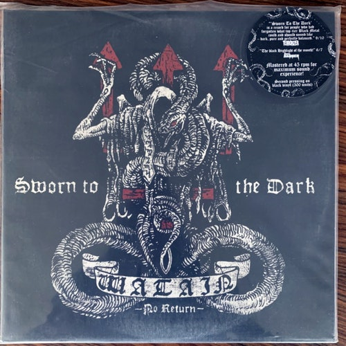 WATAIN Sworn To The Dark (Season of Mist - France 2nd press) (NM/EX) 2LP