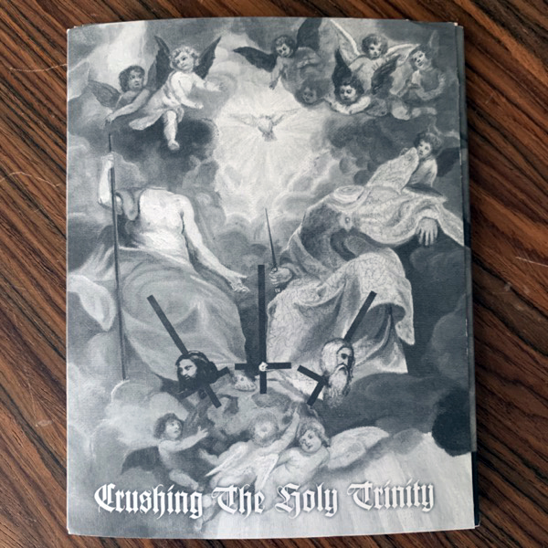 VARIOUS Crushing The Holy Trinity (Northern Heritage - Finland original) (EX) 3xCD