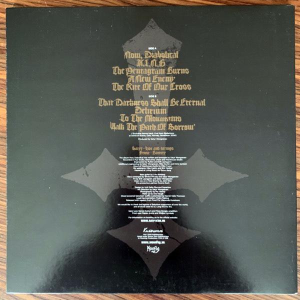 SATYRICON Now, Diabolical (Gold vinyl) (Moonfog - Norway original) (VG+/NM) LP