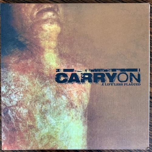 CARRY ON A Life Less Plagued (White vinyl) (Bridge Nine - USA reissue) (EX) LP