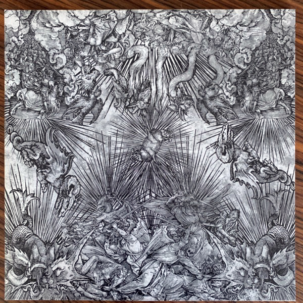 BANNER, the Frailty (Black/silver vinyl) (Suburban Home - USA original) (NM/VG+) LP