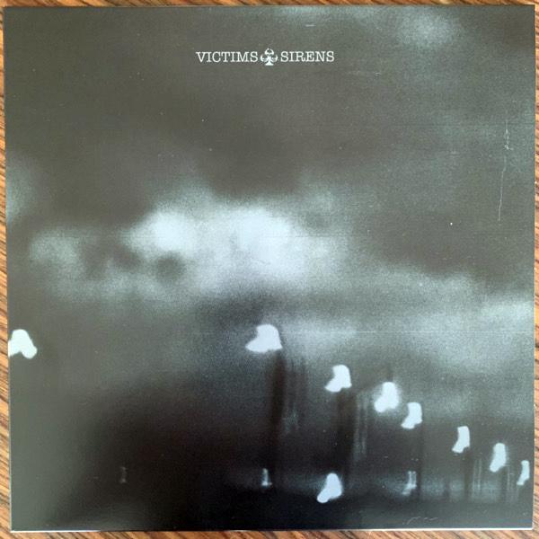 VICTIMS Sirens (Clear/black vinyl) (Tankcrimes - USA original) (EX) LP