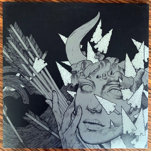 CURSED Three - Architects Of Troubled Sleep (Clear vinyl) (Reflections - Europe original) (EX) LP