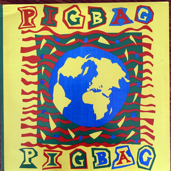 "PIGBAG The Big Bean (Y America - USA original) (VG+) 12"""