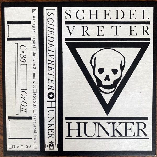 "SCHEDELVRETER Hunker (Minimal Wave - USA reissue) (EX/VG+) 10"""
