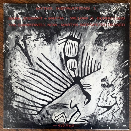 VARIOUS Myths. Instructions 1. (Sub Rosa - Belgium original) (VG+) LP